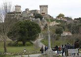 Todavía se desconoce cuándo se abrirá el castillo de Monterrei como parador.