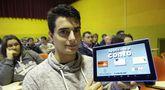 Nelson Martínez le dio cuerpo digital a las historias diseñadas por los alumnos de Cea.