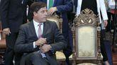 Besteiro, en el acto del miércoles para elegir al presidente de la Diputación de Lugo.