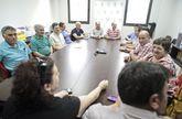Ayer se reunieron en Lalín los miembros del comité comarcal de Unións Agrarias.
