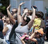 Cientos de personas se pasaron a lo largo del día por Rozas