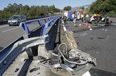 El accidente de hace cinco días fue el tercero mortal de este año en Barbanza.