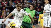 Illarramendi, en un Real Madrid-Celta