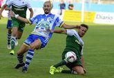 El delantero verde fue expulsado el pasado sábado frente a la Arandina por doble cartón amarillo.