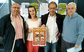 Juan Victorio (segundo por la derecha) junto a Adolfo Muíños, Raquel García y Miguel Somoza.