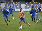 La intensidad que exige Luisito en los entrenamientos se traslada también a la competición.