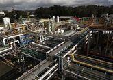 Sección dedicada a la producción de cloro con tecnología de membrana en la fábrica de CUF en Estarreja.