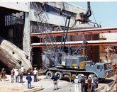 Ence presume de su constante renovación tecnológica -colocación del digestor en 1978-.