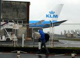 El avión de KLM estuvo diez horas en Lavacolla