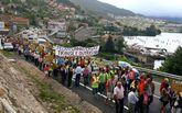 La reiterada movilización social -en la foto, Vilaboa- refuerza las peticiones de los Concellos a Costas.