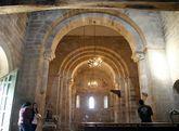 Todas las iglesias de la ruta del románico de Pantón -en la foto, Eiré- figuran en el catálogo.