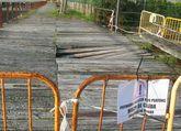 Parte de la senda está cerrada desde octubre