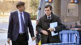 El expresidente del Govern balear Jaume Matas, y su abogado, José Zaforteza
