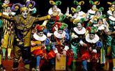 Los Bufones de Leña Verde se proclamaron campeones en el festival de comparsas.
