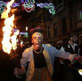 La Noite Pirata irrumpió anoche en Pontevedra.