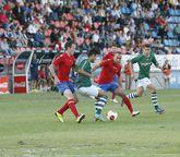 El suceso ocurrió en un partido contra el Racing de Ferrol.