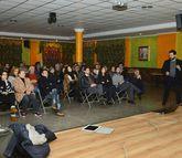 La conferencia sobre Quintáns tuvo lugar en As Canteiras.
