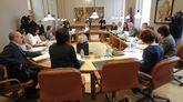 Junta de portavoces este lunes en el Parlamento