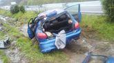 Accidente en Aranga