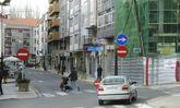 La dirección prohibida se retrasaría al cruce de la calle D con la calle Alcalde Ferreiro.