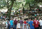 El años pasados la fiesta congregó a más de dos mil personas a lo largo de todo el día.