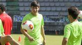 Brais Abelenda juega en el Galicia de Mugardos, el filial del Racing de Ferrol