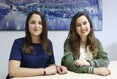 Noa Rodríguez y Cristina Rivera son amigas y compañeras de clase en el Parga Pondal.
