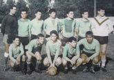 Equipo que ganó la Copa da Costa en 1967, ante el Negreira.