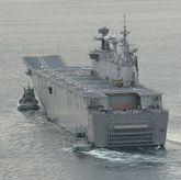 El buque turco está basado en el «Juan Carlos I», en la foto.