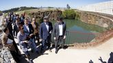Visita de Feijoo y Martiño Noriega al monte de Galicia en el Gaiás