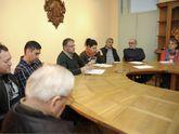 Cuíña, Fernández e asociacións presentaron o programa.