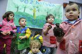 La escuela infantil Elfos complementa la oferta pública con 30 plazas concertadas.