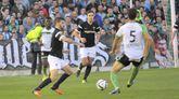El Racing de Ferrol perdió 3-1 en Santander en diciembre