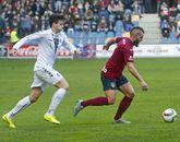 El Pontevedra venció a la Cultural Leonesa en la primera vuelta tras remontar un gol de Aketxe.