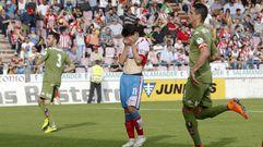 El Lugo 1 - Sporting de Gijón 2, en fotos