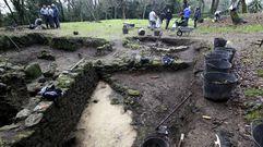 Comienzan las excavaciones Castro Alobre