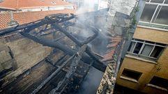 Incendio en la Ferrería. El día después
