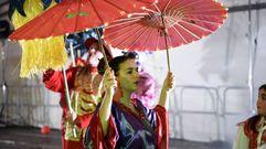 El concurso de entroido de Dumbría, en 50 imágenes