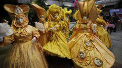Los mayores también concursan en Carnavales