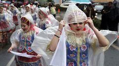 Santiago disfrutó con el Carnaval a pesar de la lluvia