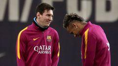 Messi entrena tras sus problemas renales