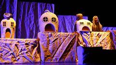 Baobab Teatro representa «O lobo e a lúa» para os nenos de infantil