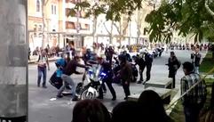 El accidente de un Policía Local de A Coruña en una exhibición en Palencia