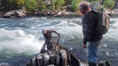 La pesca de la lamprea en el Ulla en Carcacía