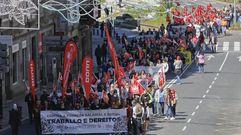 Santiago celebra el Primero de Mayo