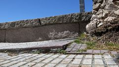 Chequeo al paseo marítimo de Portosín