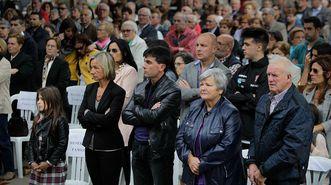 Funeral por las víctimas del accidente del ralli en Carral