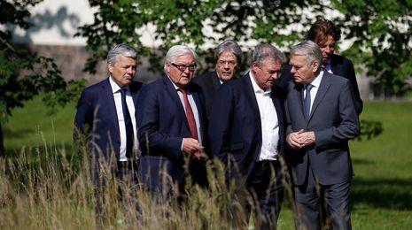 Los seis fundadores de la UE urgen a Londres a iniciar «cuanto antes» el proceso desalida