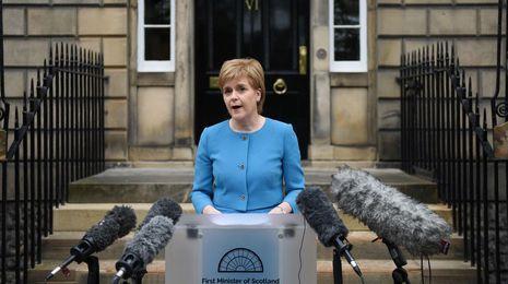 Escocia quiere negociar directamente su futuro con la Unión Europea