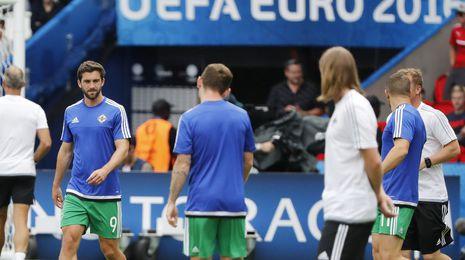 Will Grigg se despide de la Eurocopa sin jugar